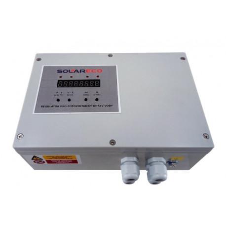 SolarEco OPL 9AC MPPT displej PUIT regulátor pro fotovoltaický ohřev vody