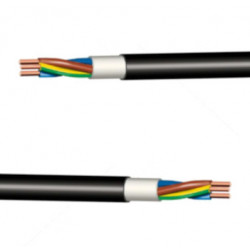 Kabel - CYKY černý