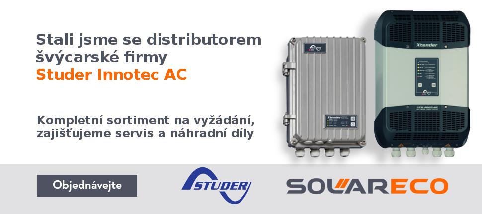 Jsme distributorem švýcarské značky Studer Innotec